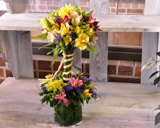 Alstroemeria Topiary Upper Darby Polites Florist, Springfield Polites Florist