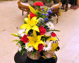 Bee Well Bouquet Upper Darby Polites Florist, Springfield Polites Florist