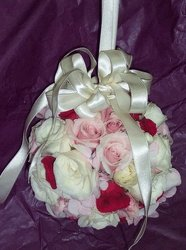 Connor Wedding Bridesmaid Bouquet Upper Darby Polites Florist, Springfield Polites Florist