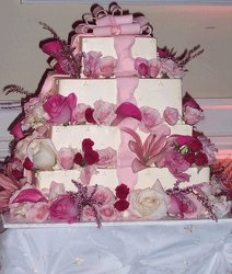 Connor Wedding Cake Decorations Upper Darby Polites Florist, Springfield Polites Florist