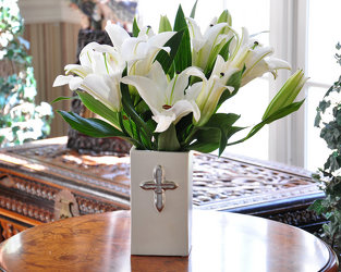 Faithfully Blessed Bouquet Upper Darby Polites Florist, Springfield Polites Florist