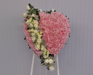 From the Heart Standing Heart Upper Darby Polites Florist, Springfield Polites Florist