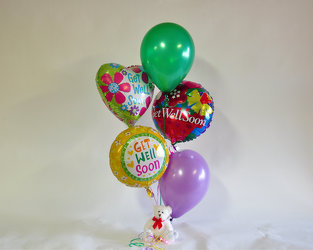 Get Well Balloons Upper Darby Polites Florist, Springfield Polites Florist