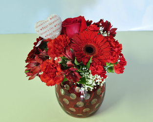 Hot to Trot Upper Darby Polites Florist, Springfield Polites Florist