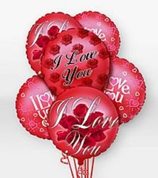 I Love You Balloons Upper Darby Polites Florist, Springfield Polites Florist