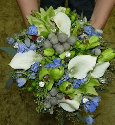 Manos Wedding Bridesmaid Bouquet Upper Darby Polites Florist, Springfield Polites Florist