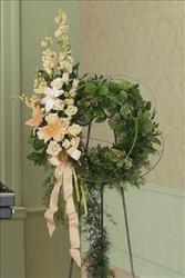 Place in Heaven Wreath Upper Darby Polites Florist, Springfield Polites Florist