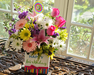 Say it's Your Birthday Upper Darby Polites Florist, Springfield Polites Florist