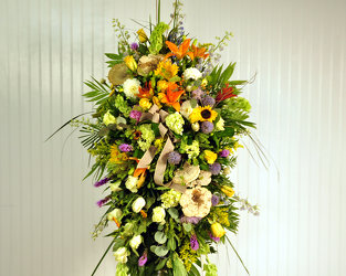 The Woodland Standing Spray Upper Darby Polites Florist, Springfield Polites Florist