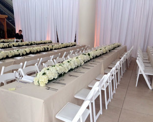 Thomsen Wedding Cira Center 1 Upper Darby Polites Florist, Springfield Polites Florist