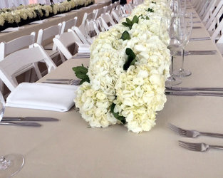Thomsen Wedding Cira Center Upper Darby Polites Florist, Springfield Polites Florist